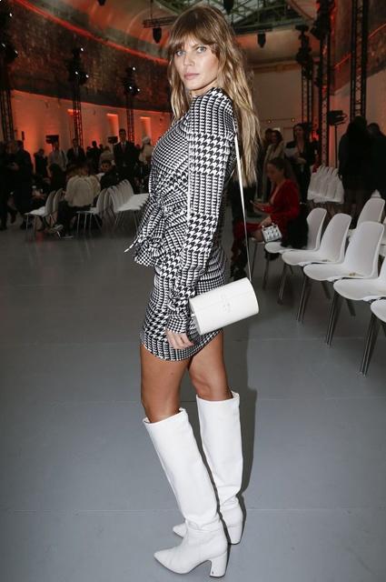 a82dc6460f3774b Неделя высокой моды в Париже: Селин Дион на показе Alexandre Vauthier