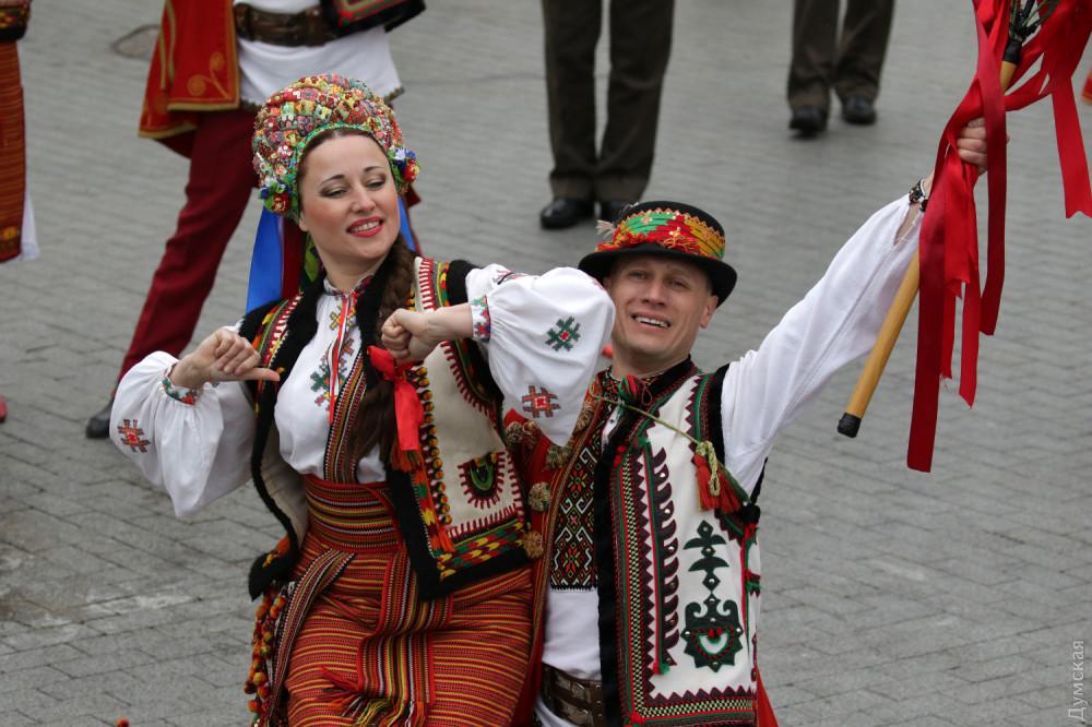 холсте, поздравление от молдаванки нас