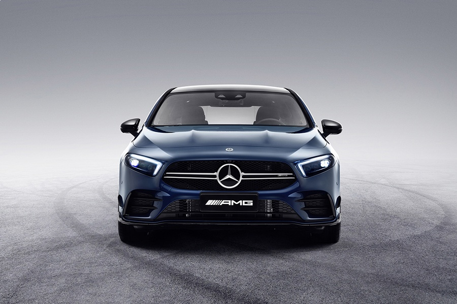 Автосалон в Шанхае 2019: Mercedes-AMG A 35L 4Matic