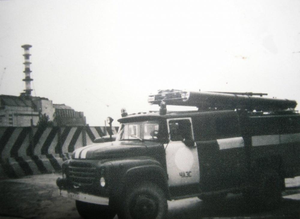 какой причине фото первых пожарных чернобыля будет заметен
