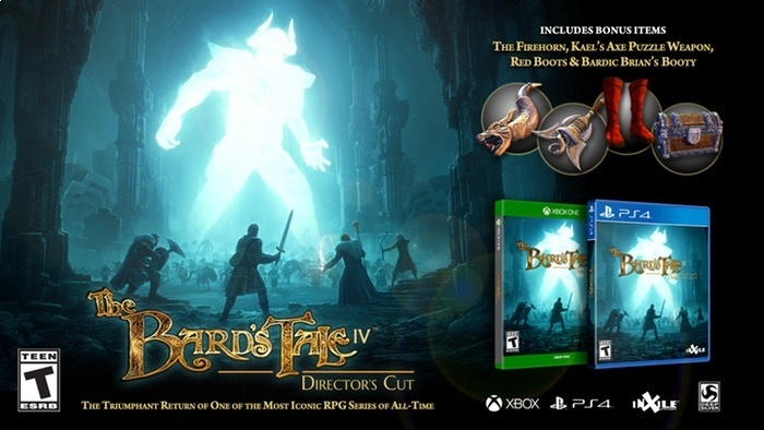 The Bard's Tale IV: Director's Cut выйдет на PC и консолях 27 августа