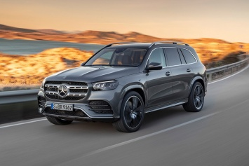 Автосалон в Нью-Йорке: Mercedes-Benz GLS